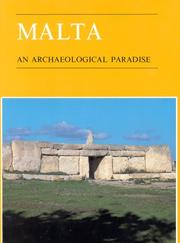Cover of: Malta, an archaeological paradise by Anthony Bonanno