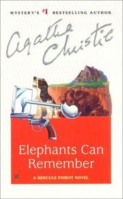 Cover of: Elephants Can Remember by Agatha Christie