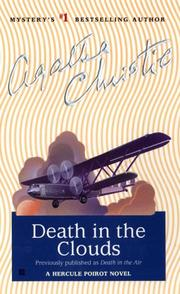Cover of: Death in the air by Agatha Christie