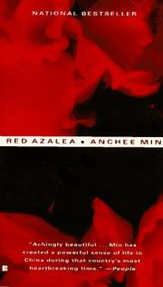 Cover of: Red Azalea by Anchee Min