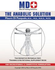 Anabolic Solution for Powerlifters Dr. Mauro G Di Pasquale