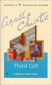 Cover of: Third girl by Agatha Christie