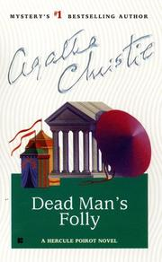 Cover of: Dead man's folly by Agatha Christie