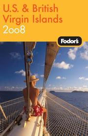 Cover of: Fodor's U.S. and British Virgin Islands 2008 by Fodor's, Mark Sullivan