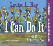 I Can Do It 2005 Calendar Louise Hay
