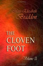 Cover of: The Cloven Foot by Mary Elizabeth Braddon