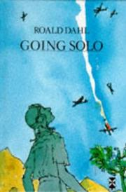 Cover of: Going solo by Roald Dahl