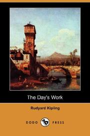 Cover of: The  day's work by Rudyard Kipling