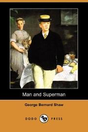 Cover of: Man and superman by George Bernard Shaw