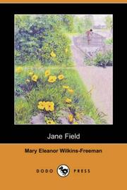Cover of: Jane Field by Mary Eleanor Wilkins Freeman