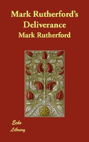 Cover of: Deliverance by Rutherford, Mark