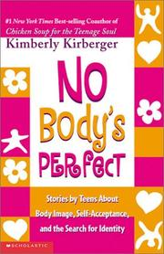Cover of: No body's perfect by Kimberly Kirberger