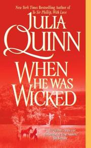 Cover of: When he was wicked by Julia Quinn