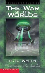 Cover of: War Of The Worlds - Introduction By Orson Scott Card by H. G. Wells