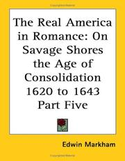 Cover of: The Real America in Romance by Edwin Markham