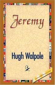 Cover of: Jeremy by Hugh Walpole