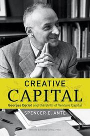 Cover of: Creative capital by Spencer E. Ante