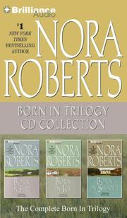 Cover of: Nora Roberts Born In Trilogy CD Collection by Nora Roberts