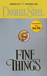 Cover of: Fine things by Danielle Steel
