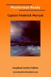 Cover of: Masterman Ready by Frederick Marryat