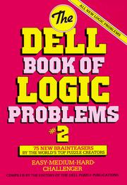 The Dell Book of Logic Problems, Number 6 Dell Mag Editors