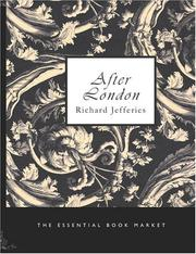 Cover of: After London by Richard Jefferies