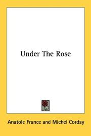 Cover of: Under the rose by Anatole France