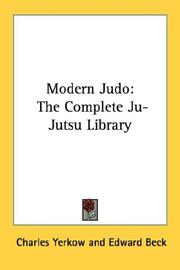 Cover of: Modern judo by Charles Yerkow
