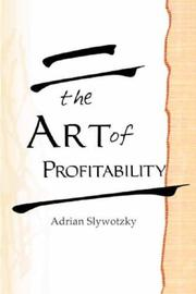 Cover of: The Art of Profitability by Adrian Slywotzky