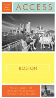 Cover of: Access Boston 7e (Access Guides) by Richard Saul Wurman