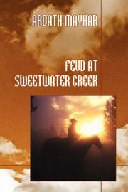 Cover of: Feud at Sweetwater Creek by Ardath Mayhar