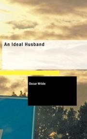 Cover of: An Ideal Husband by Oscar Wilde
