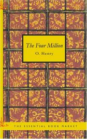 Cover of: The Four Million by O. Henry
