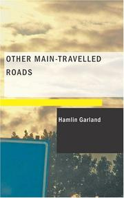 Cover of: Other main-travelled roads by Hamlin Garland
