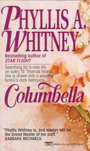 Cover of: Columbella by Phyllis A. Whitney
