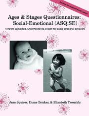 Cover of: Ages & Stages Questionnaires: Social-Emotional by Jane Squires