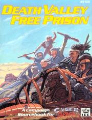 Cover of: Death Valley Free Prison (Cyberspace RPG) by Brian Booker