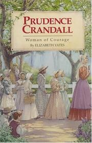 Cover of: Prudence Crandall by Elizabeth Yates