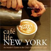 Cover of: Cafe Life New York by Sandy Miller
