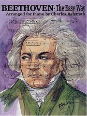 Cover of: Beethoven - The Easy Way by Ludwig van Beethoven