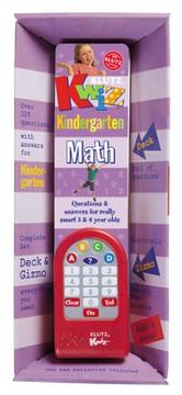 Cover of: Klutz Kwiz Kindergarten Math by Inc. Klutz