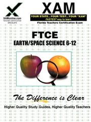 Cover of: FTCE Earth & Space Science 6-12 by Sharon Wynne