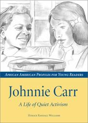 Cover of: Johnnie Carr by Randall Williams