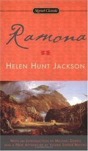 Cover of: Ramona by Helen Hunt Jackson