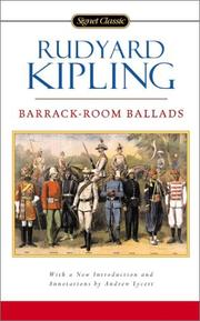 Cover of: Barrack-room ballads and other verses by Rudyard Kipling
