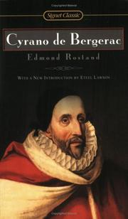 Cover of: Cyrano de Bergerac by Edmond Rostand