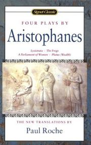 Cover of: Four plays by Aristophanes