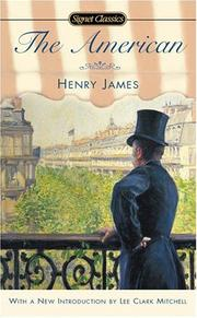 Cover of: The American by Henry James, Jr.