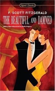 Cover of: The Beautiful and Damned by F. Scott Fitzgerald