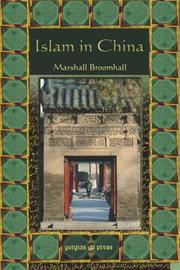 Cover of: Islam in China by Marshall Broomhall